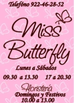 FLORISTERIA MISS BUTTERFLY